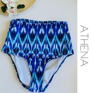Athena Bikini Bottoms Cascaded Print